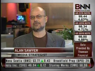 Alan Sawyer on Business News Network - BNN