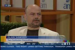 Alan Sawyer on Canada AM